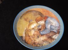 COLLECTABLE LIMITED EDITION PLATE SULAMITH WULFING 1982 DIE MUSIK 8""